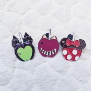 Disney trading pins Candied Apple pin set Minnie